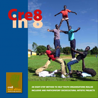 Cre8 in 8 method book